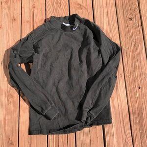 Vintage Nike Black Long Sleeve Shirt